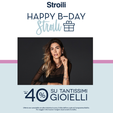 Happy B-Day Stroili