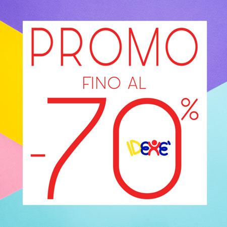PROMO FINO AL -70% IDEXE'